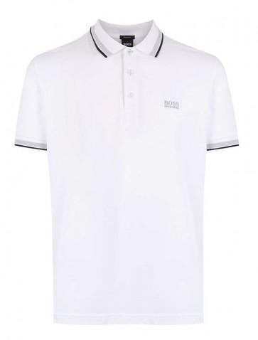 Hugo Boss - Pique Polo in White