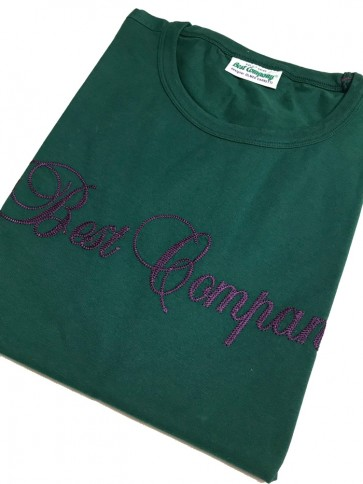 Best Company - T-Shirt in Verde Maine