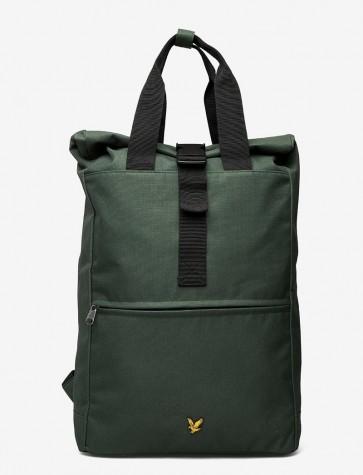 Lyle & Scott - Roll Top Backpack in Jade Green