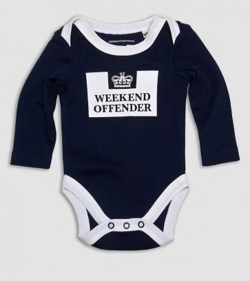 Weekend Offender - Babygrow Navy