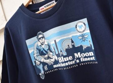Terraces - ''Blue Moon'' T-Shirt in Navy