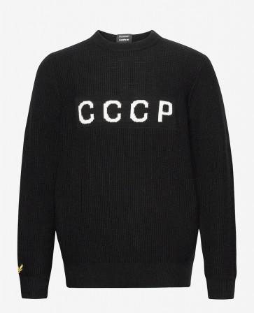 Lyle & Scott X Lovers FC - Knitted Jumper ''CCCP''