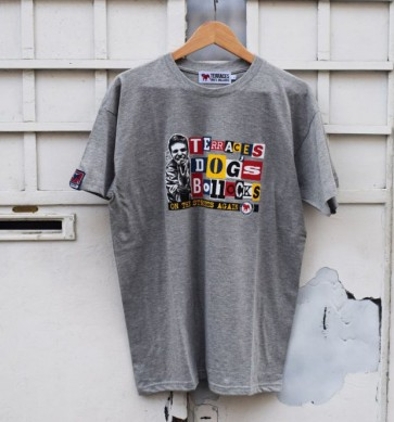 "Terraces - ""ON THE STREETS AGAIN"" T-Shirt in Grey"