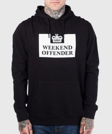 Weekend Offender - HM Service Sweatshirt AW17 (Black)