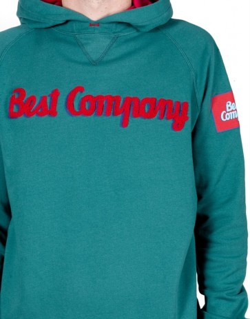Best Company - Hooded Sweatshirt (Verde Maine)