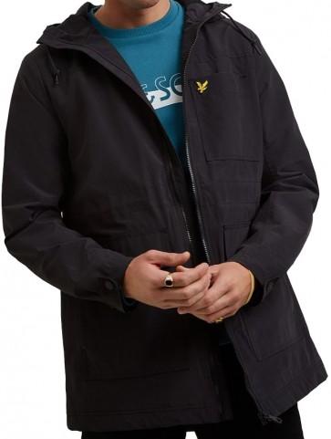 Lyle & Scott - Micro Fleece Lined Jacket in True Black