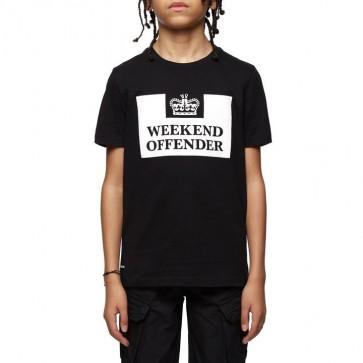 Weekend Offender - Kids Prison Tee (Black)