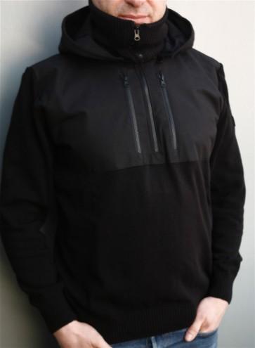 Mathori London - Cotton Knitted Pullover (Black)