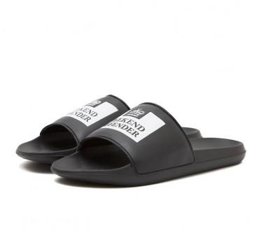 Weekend Offender - LA PISCINE Slides in Black