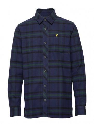 Lyle & Scott - Tartan Overshirt (Navy)