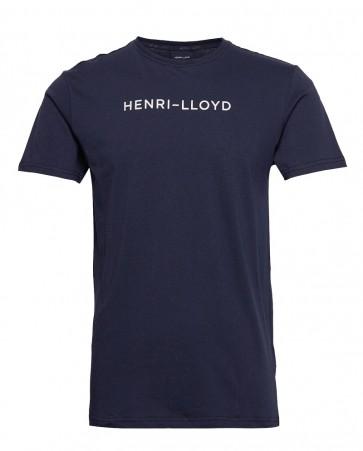 Henri Lloyd - Mav Cotton T-Shirt in Navy