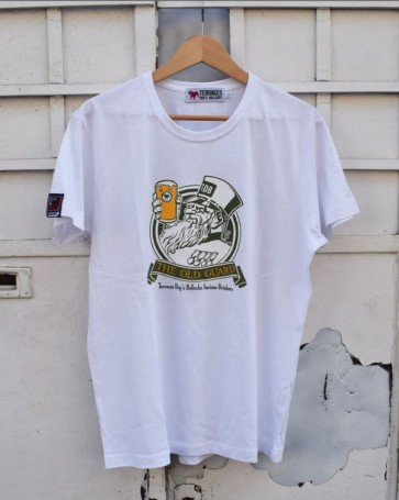 "Terraces - ""OLD GUARD 2"" T-Shirt (White)"