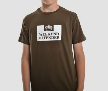 Weekend Offender - Kids Prison T-Shirt (Uniform)