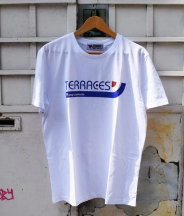 Terraces - ''Stripes'' T-Shirt in White