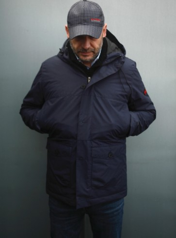 Mathori London - Winter Parka (Navy Blue)