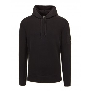 CP Company - Lens Hoodie in Black (09CMKN123A)