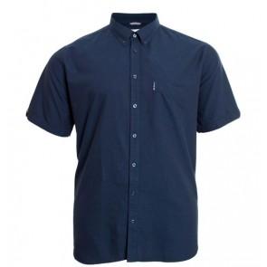 Ben Sherman - Oxford Short Sleeve Shirt in Dark Navy