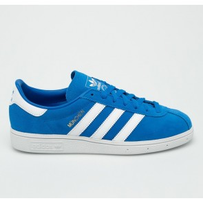 Adidas Originals - Munchen Trainers in Royal Blue (B96496)