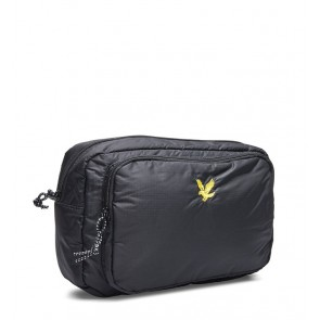 Lyle & Scott - Wadded Side Bag in Black