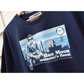 Terraces - ''Blue Moon'' T-Shirt in Navy