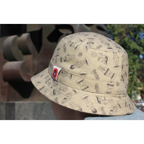 Outskirts - Bucket Hat in Beige