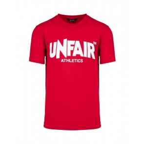 Unfair Athletics - Classic Label T-Shirt (Red)