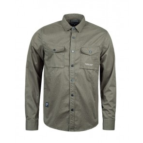 Marshall Artist - Dual Pocket Military Shirt (Military Green)