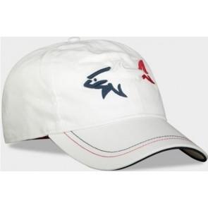 Paul & Shark - Baseball Cap in White