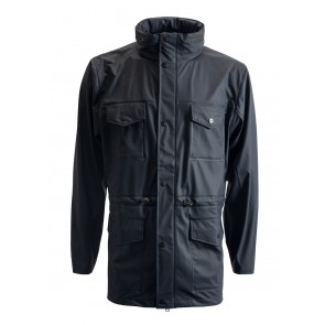 Rains - Four Pocket Jacket (Blue)