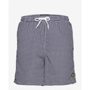 Lyle & Scott - Gingham Swim Shorts
