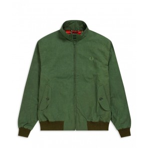 Fred Perry - Waxed Harrington Jacket (Made in England)