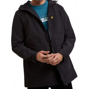 Lyle & Scott - Micro Fleece Lined Jacket in True Black