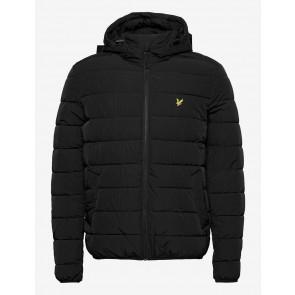 Lyle & Scott - Lightweight Puffer Jacket in Black