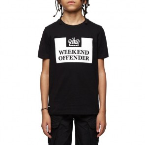 Weekend Offender - Kids Prison Tee (Black)