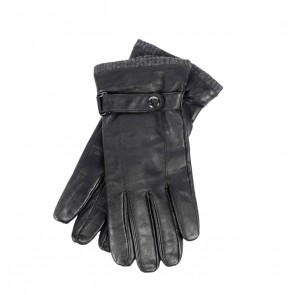 Peaceful Hooligan - Leather Gloves (Black)