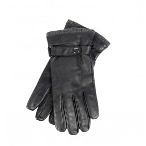 Peaceful Hooligan - Leather Gloves (Black)