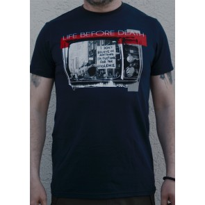 Mathori London - Life Before Death T-Shirt in Navy