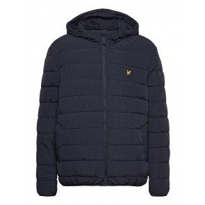 Lyle & Scott - Lightweight Puffer Jacket in Navy