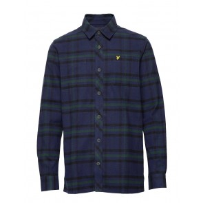 Lyle & Scott - Tartan Overshirt (Navy)