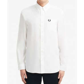 Fred Perry - Oxford Shirt in White