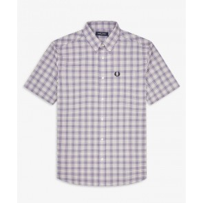 Fred Perry - Short Sleeve Micro Check Shirt