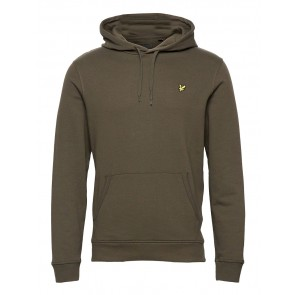 Lyle & Scott - Pullover Hoodie in Olive