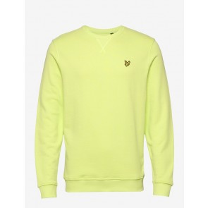 Lyle & Scott - Crew Neck Sweatshirt in Sharp Green