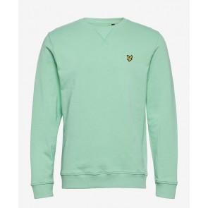 Lyle & Scott - Crew Neck Sweatshirt in Sea Mint