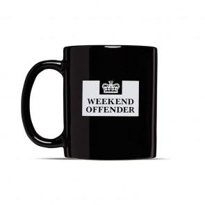 Weekend Offender - Prison Mug Black