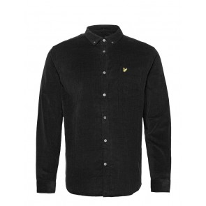Lyle & Scott - Needle Cord Shirt in Black