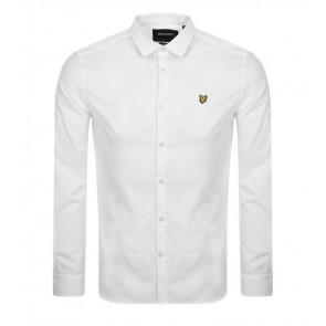 Lyle & Scott - Poplin Shirt in White