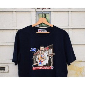 Terraces - Pub Life T-Shirt in Navy