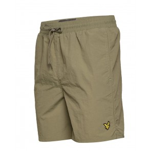 Lyle & Scott - Plain Swim Short in Khaki
