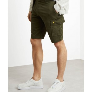 Lyle & Scott - Cargo Shorts (Dark Sage)